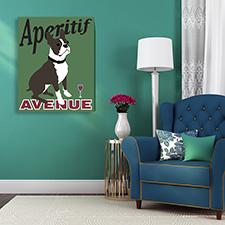 aeritif dog canvas
