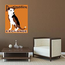 destination dog poster